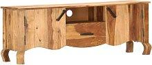 TV Cabinet 115x30x42 cm Solid Sheesham Wood