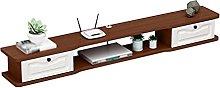 Tv Cabinet, Flip Hinge Design Set-Top Box