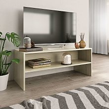 TV Cabinet Sonoma Oak 100x40x40 cm Chipboard