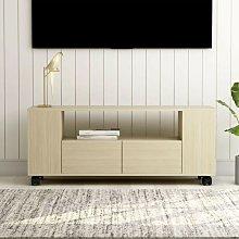 TV Cabinet Sonoma Oak 120x35x43 cm Chipboard