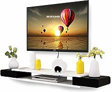 TV Floating Shelf, Wall-Mounted Floating TV
