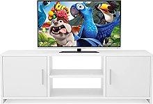 TV Stand Cabinet Wooden TV Unit Multimedia Centre