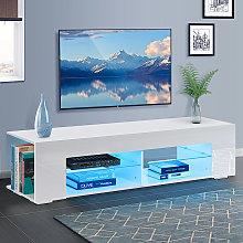 TV Stand Unit Cabinet LED Entertainment Media