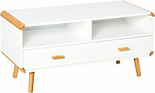 TV Stand w/ Drawers Shelves Media Console Table
