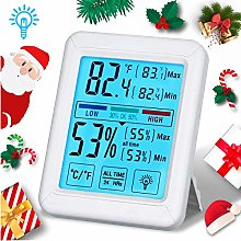 Tvird Digital Room Thermometer Hygrometer with