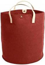 Tweedmill - Felt Storage Basket with Leather