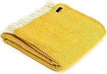 Tweedmill Textiles 100% Pure Wool Blanket Beehive