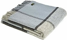 Tweedmill Textiles Block Check KNEE RUG Throw