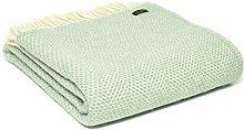 Tweedmill Textiles Honeycomb Pure New Wool Blanket