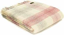 Tweedmill Textiles Meadow Check Throw Blanket