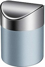 TWFRIC Mini Dustbin with Lid, Trash Can Small