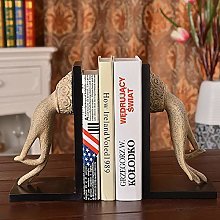 TWFY Decorative Book Ends 2 Art Bookend Rustic