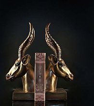 TWFY Decorative Book Ends Animal Bookend 2 Pcs
