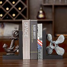 TWFY Decorative Book Ends Art Bookend 2 Pcs