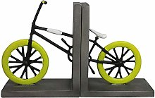 TWFY Decorative Book Ends Home Office Set of 2