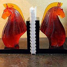 TWFY Decorative Book Ends Horse Decor Bookend 2