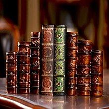 TWFY Decorative Book Ends Office 2 Pcs Vintage