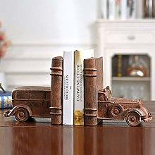 TWFY Decorative Book Ends Office Desk Antique