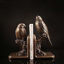 TWFY Decorative Book Ends Office Gifts 2 Pcs Retro