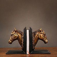 TWFY Decorative Book Ends Office Gifts 2 Pcs