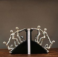 TWFY Decorative Book Ends Office Study Bookend 2