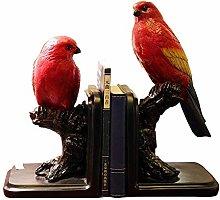 TWFY Decorative Book Ends Office Study Decor 2 Pcs