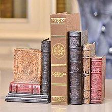 TWFY Decorative Book Ends Office Vintage Books