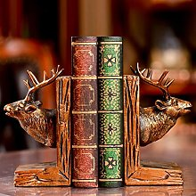 TWFY Decorative Book Ends Stand Bookend Retro