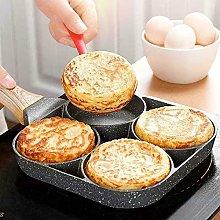 TWH Non Stick Aluminium Alloy Egg Pan, 4-Cup Egg