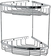 Twin Double Corner Wire Shower Caddy Shelf Basket