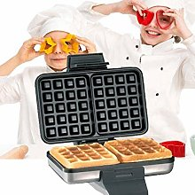 Twin Two Slice Waffle Maker Iron, Square Waffle