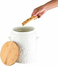 Twine Pantry: Textured Ceramic Cookie Jar,