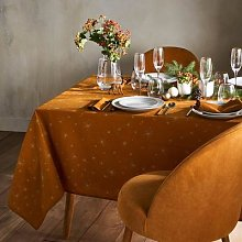 Twinkle Printed Cotton Tablecloth by La Redoute