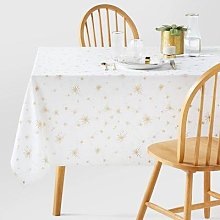 Twinkle Washed Cotton Tablecloth by La Redoute