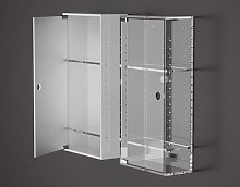 Two shelves bathroom cabinet Armadietto
