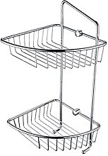 Two Tier Wall Fixed Wire Basket COMP BASK07 C