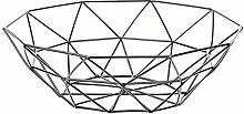 TwoCC Geometric Fruit Vegetable Wire Basket Metal