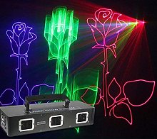 TXC- Stage DJ Lamps RGB Disco Party Lights 3D