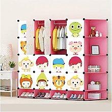 TXOZ Folding Wardrobe Kids Wardrobe Childrens