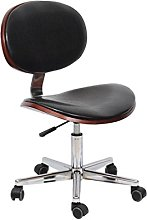 TXX Chair Swivel with Chrome Legs with Wheels and