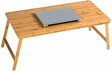 TXX Desk Folding Laptop Desk Bed with Small Table