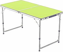 TXX Desk Portable Folding Table, Aluminum Height