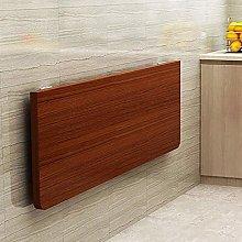 TXX Desk Wall Mounted Folding Table,Wooden Folding