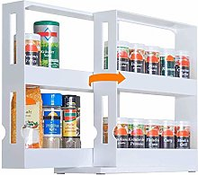 TYAWY Pull Out Spice Rack, Kitchen Herb Rack,