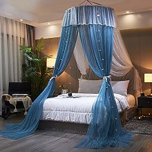 TYAWY Round Mosquito Net, Lace Bed Canopy,