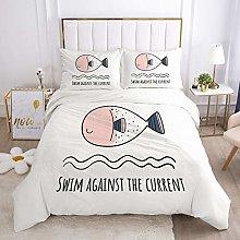 TYFEI Cartoon Crib Bedding Set for Kids Children