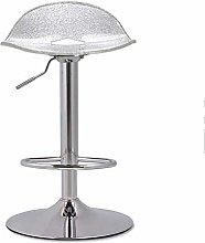 TYJIAJU Chairs Modern Front Desk Bar Stool Metal +