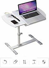 TYJIAJU Laptop Table Bedside Table Desktop Small