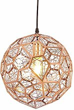 TYJIAJU Novely Chandeliers- Rose Gold Color