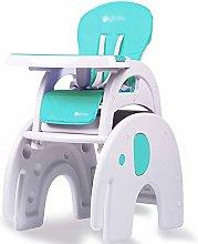 TYJIAJU Travel Cots Brisk 3 in 1 Baby High Chair